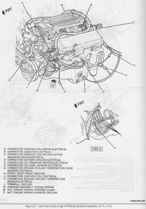 93 lt1 wiring harness wiring diagram